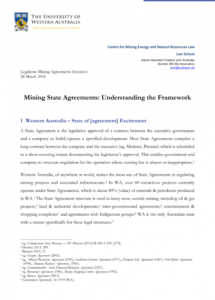 pdf) mining state agreements: understanding the framework mining contract agreement