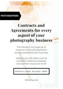 photography contract templates, agreement, release form & more school photography contract template