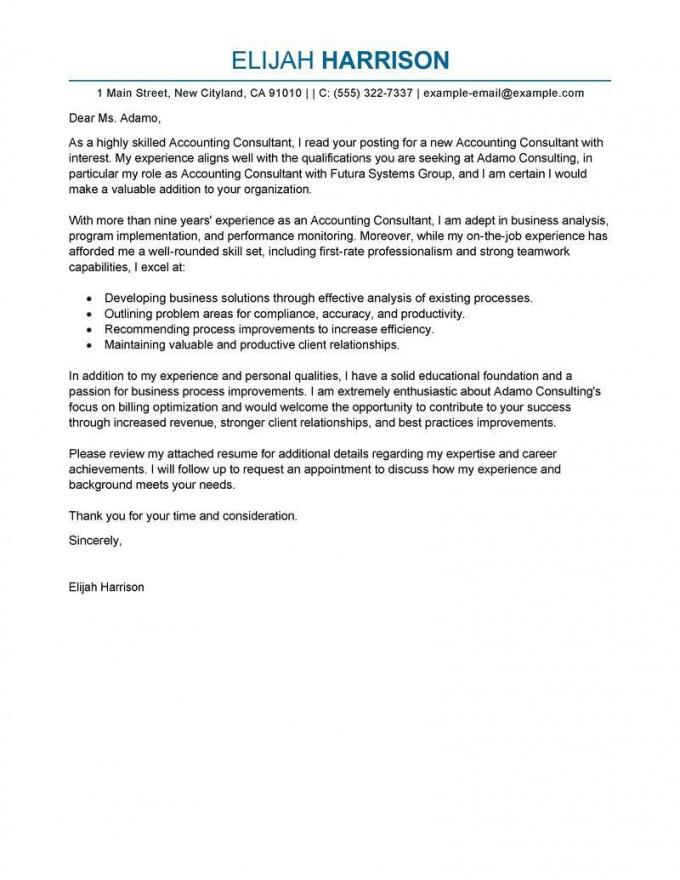 Printable Cover Letter Template Consulting 2Cover Letter Template ...
