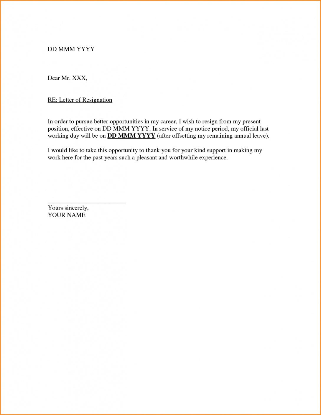 printable gallery of writing a resignation letter due to personal reasons friendly resignation letter template