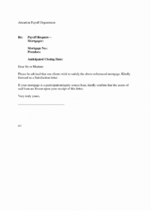 printable template letter for debt repayment valid auto loan payoff letter loan satisfaction letter template doc