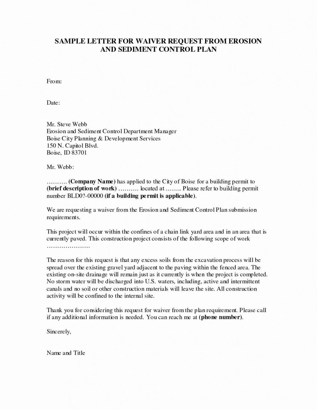 printable waiver letter template gallery waiver letter template doc