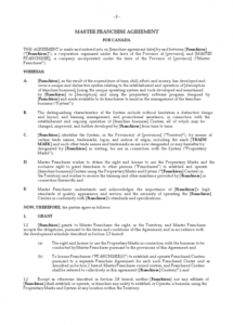 this is the franchise agreement template  6 free templates in pdf, word, excel franchise checklist template