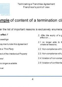 this is the terminating a franchise agreement  ppt download termination of franchise agreement