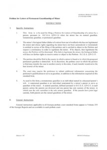 009 legal guardian letter examples of permanent guardianship permanent guardianship letter template