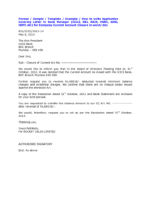 editable bank account closing letter format sample cover templates from bank account cancellation letter template pdf