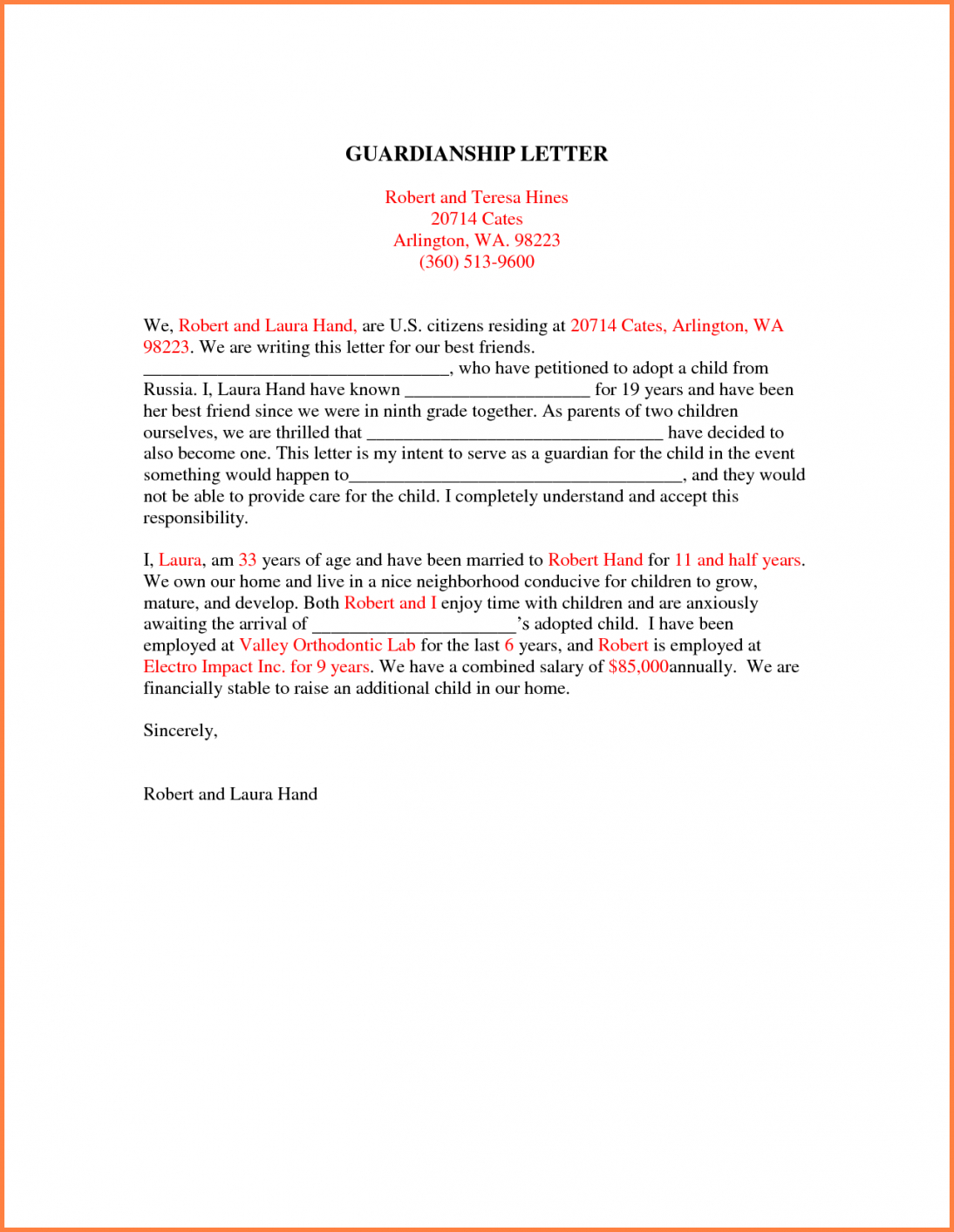 free 10 images of temporary custody letter template  bfegy temporary guardianship letter template