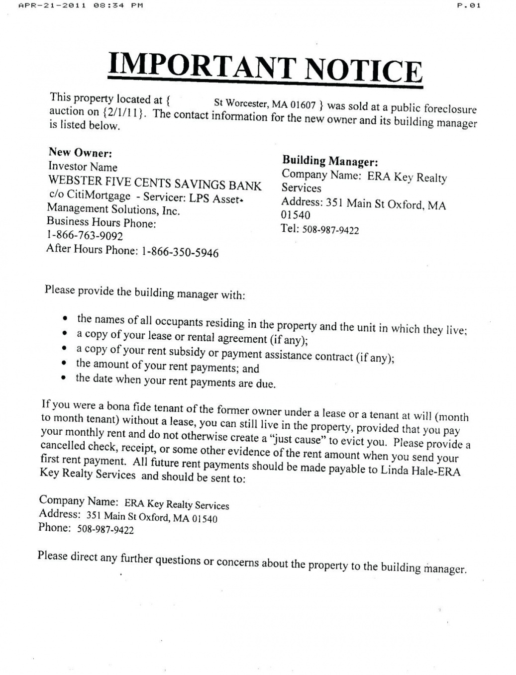 free foreclosure letter template collection foreclosure letter template