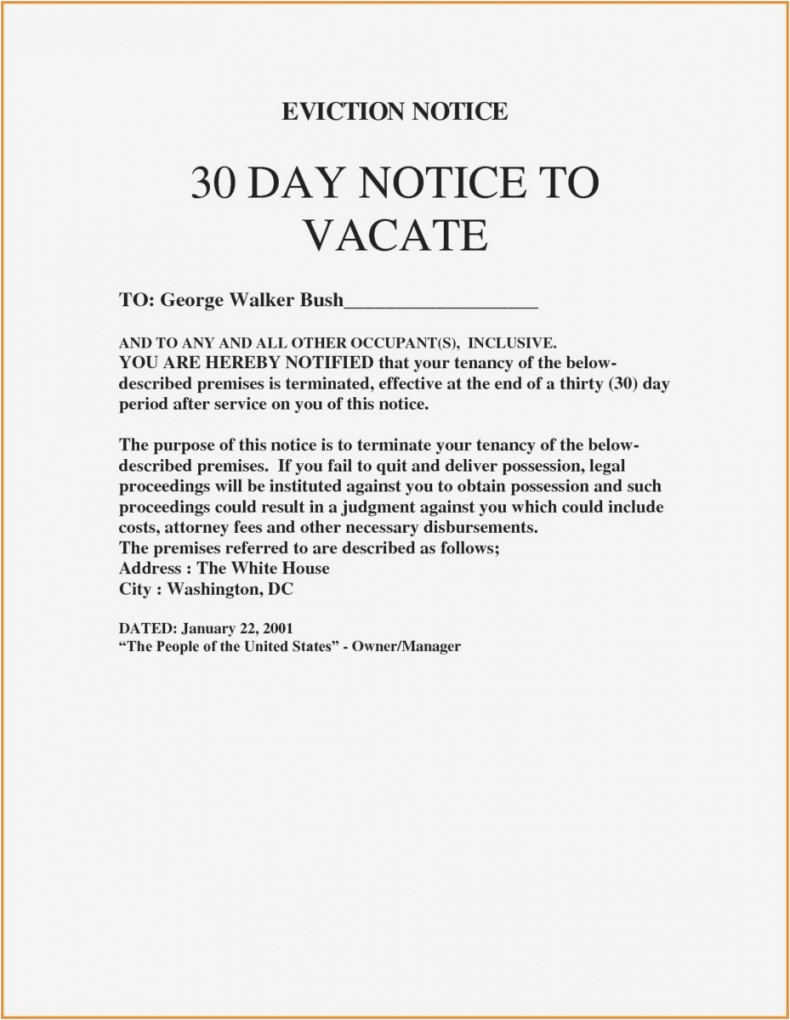 free roommate eviction letter template collection  letter cover templates 30 day eviction letter template sample