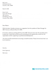 how to write a letter of resignation  2019 extensive guide quitting letter template pdf