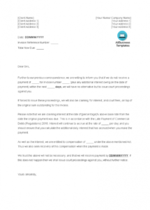printable free late payment letter  templates at allbusinesstemplates late payment letter template doc