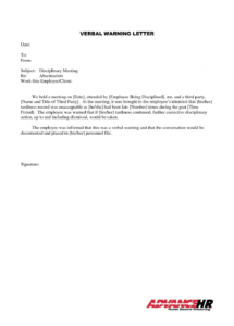 sample warning letter for habitual lateness poemdocor write a final warning letter for lateness pdf