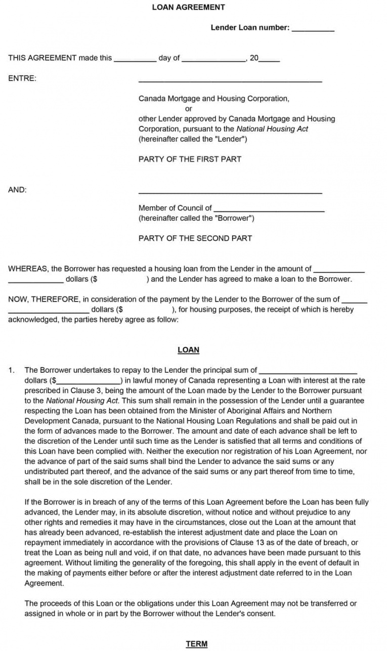 40+ free loan agreement templates word & pdfᐅ template lab demand loan agreement template doc