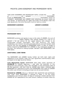 editable corporate loan contract sample  private loan agreement template demand loan agreement template pdf