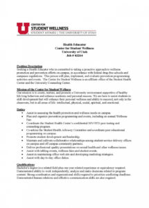 editable public health cover letter best cover letter cover letters for public health cover letter template sample
