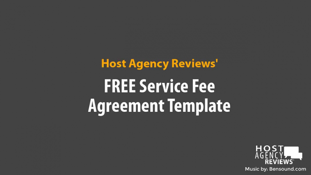 free free template: travel agent service fee agreement  youtube travel service agreement template example