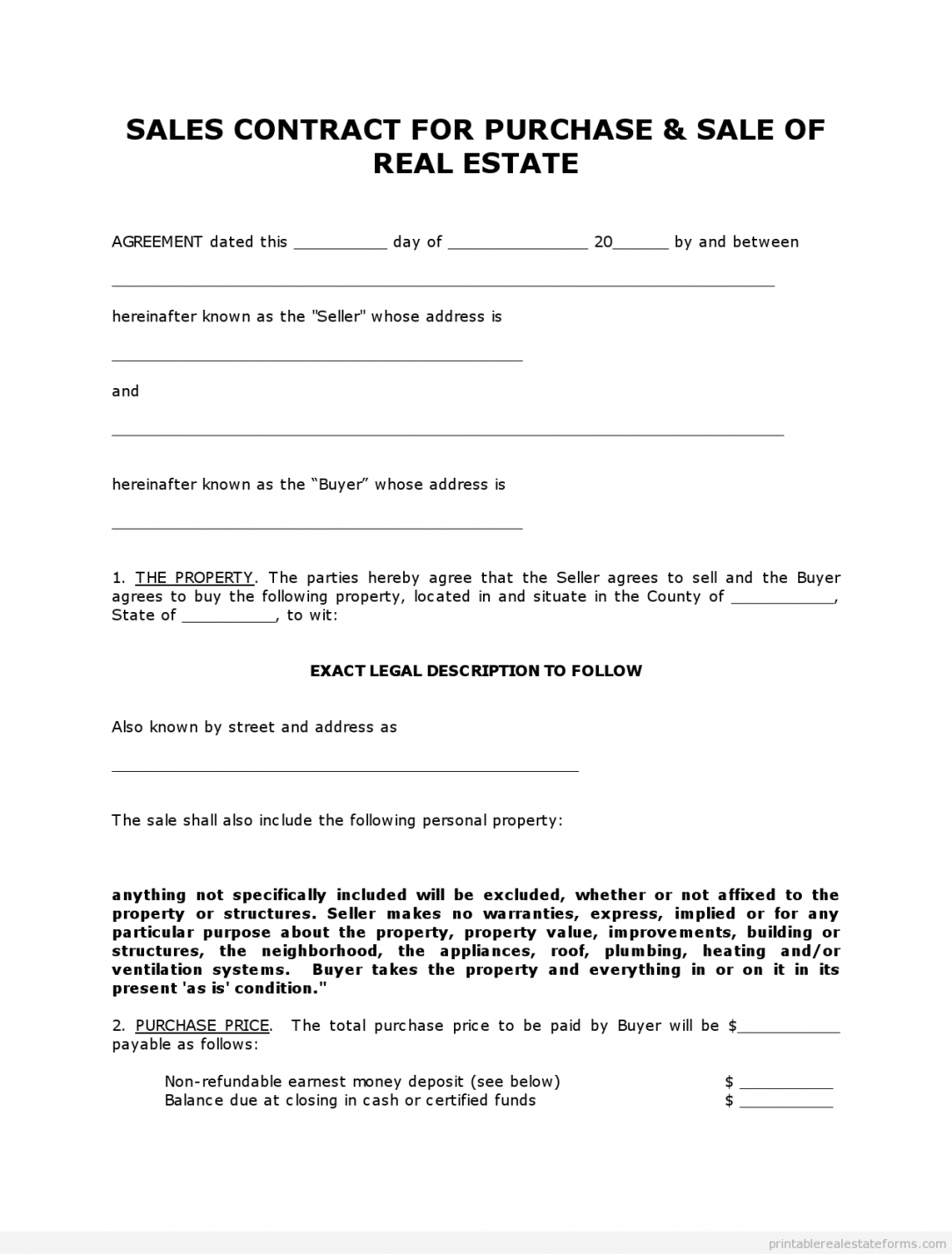 free get high quality printable simple land contract form editable land use agreement template example