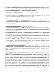 printable download composer agreement style 15 template for free at templates songwriters agreement template doc