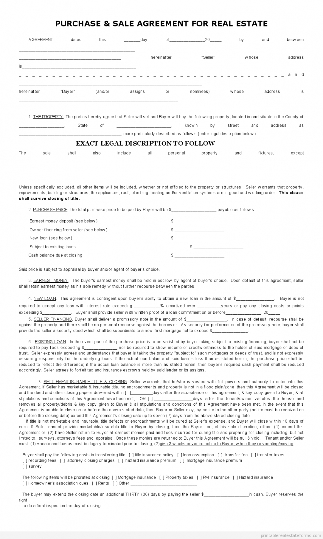 printable sales contract for buying subject to template 2015 sales contractor agreement template