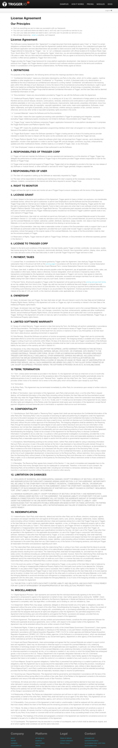 free 2020 eula template generator mobile app license agreement template example
