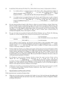 free option agreement for rights to original screenplay screenplay option agreement template word
