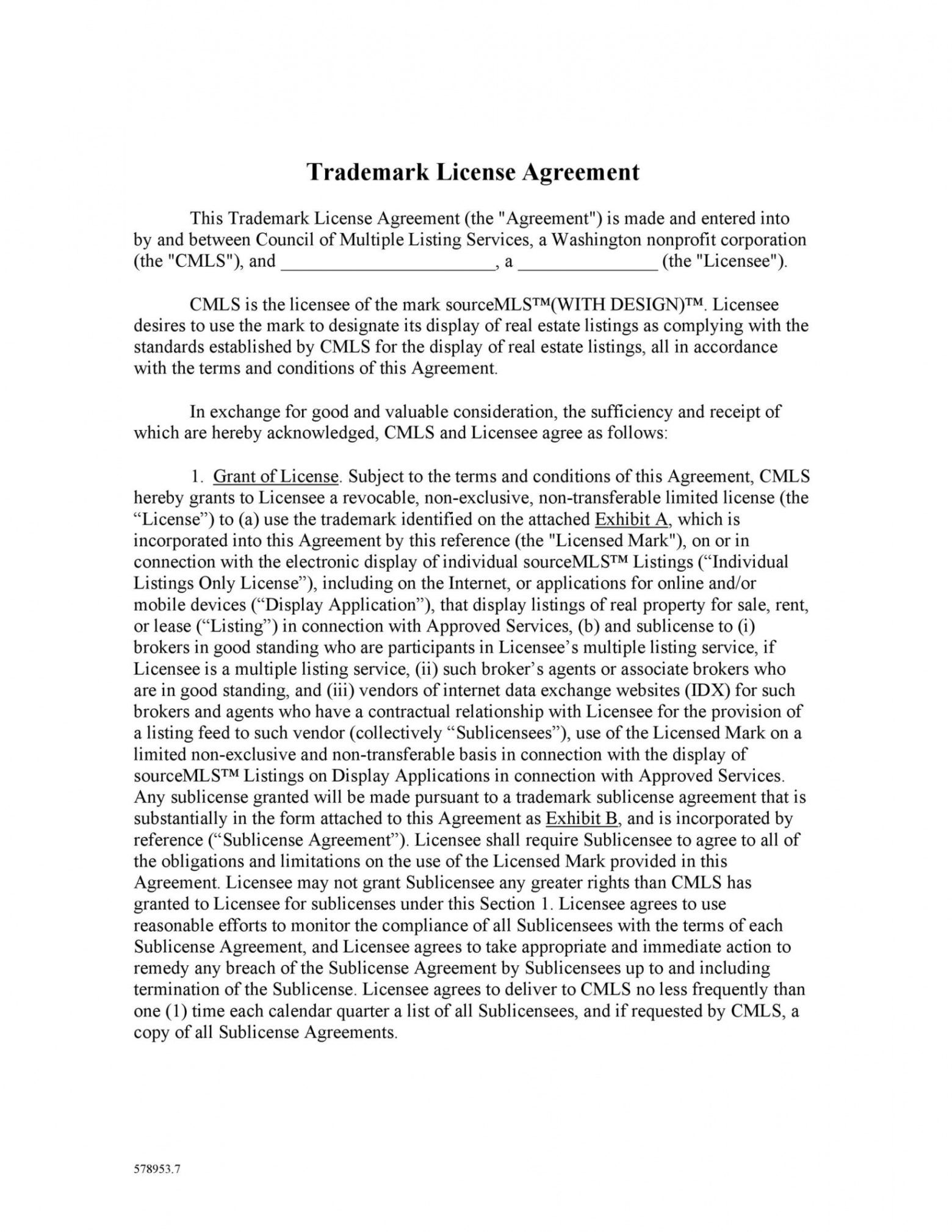 printable 50 professional license agreement templates  templatelab real estate license agreement template excel