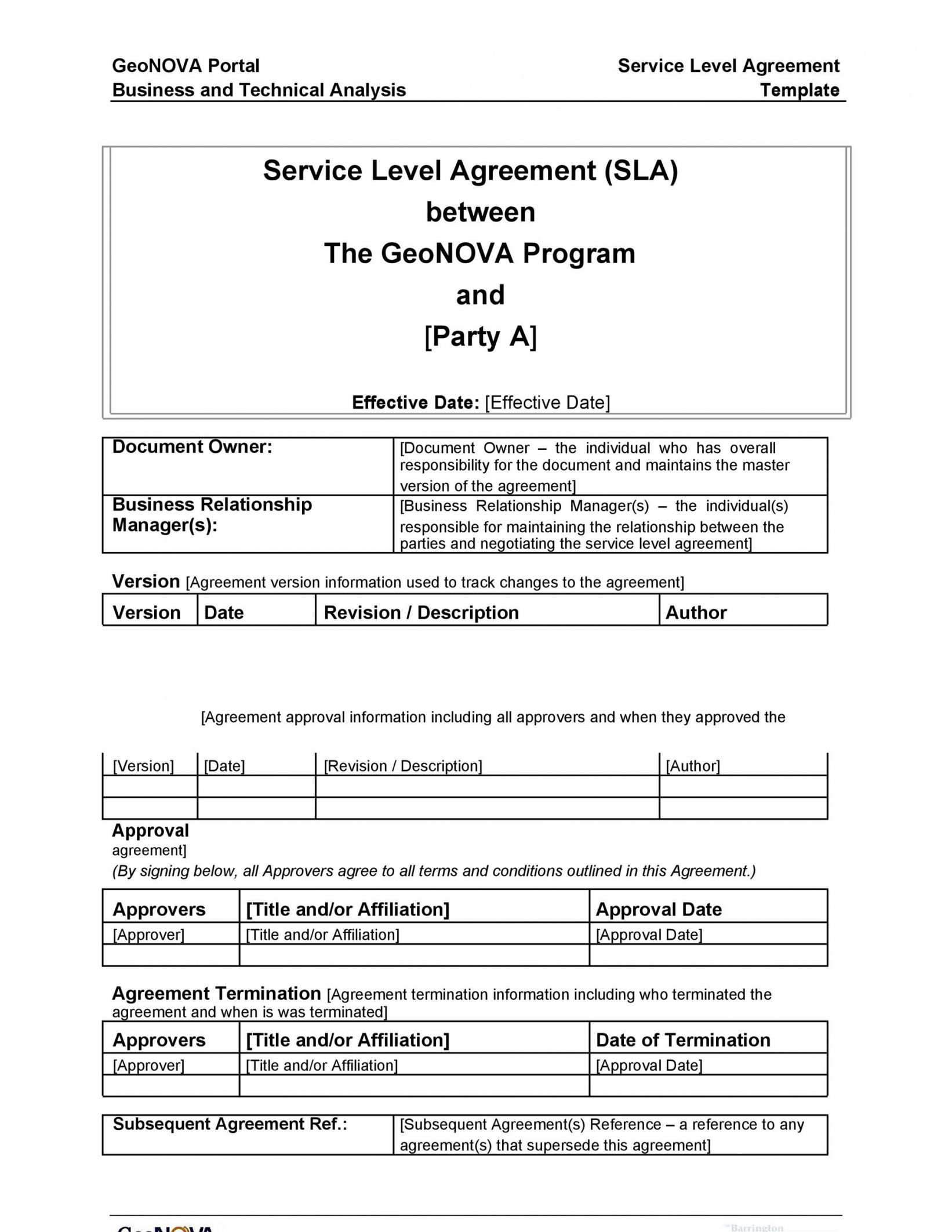Printable 50 Professional Service Agreement Templates ...