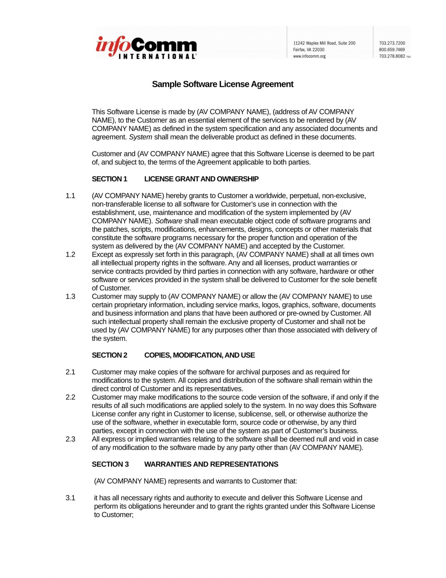 printable free 2 source code license agreement forms in pdf source code license agreement template doc