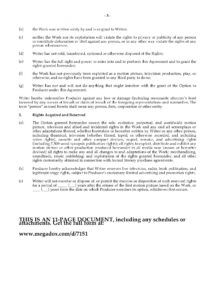 printable option agreement for rights to original screenplay screenplay option agreement template