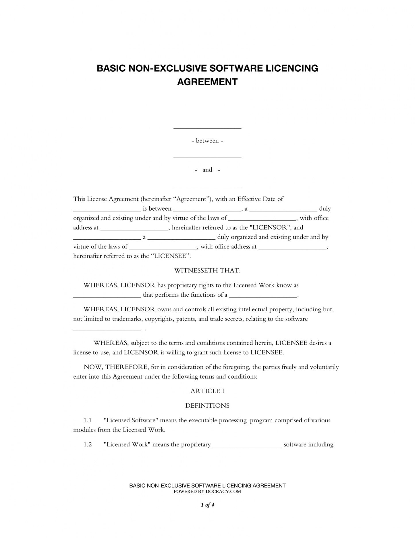 sample free 2 source code license agreement forms in pdf source code license agreement template pdf