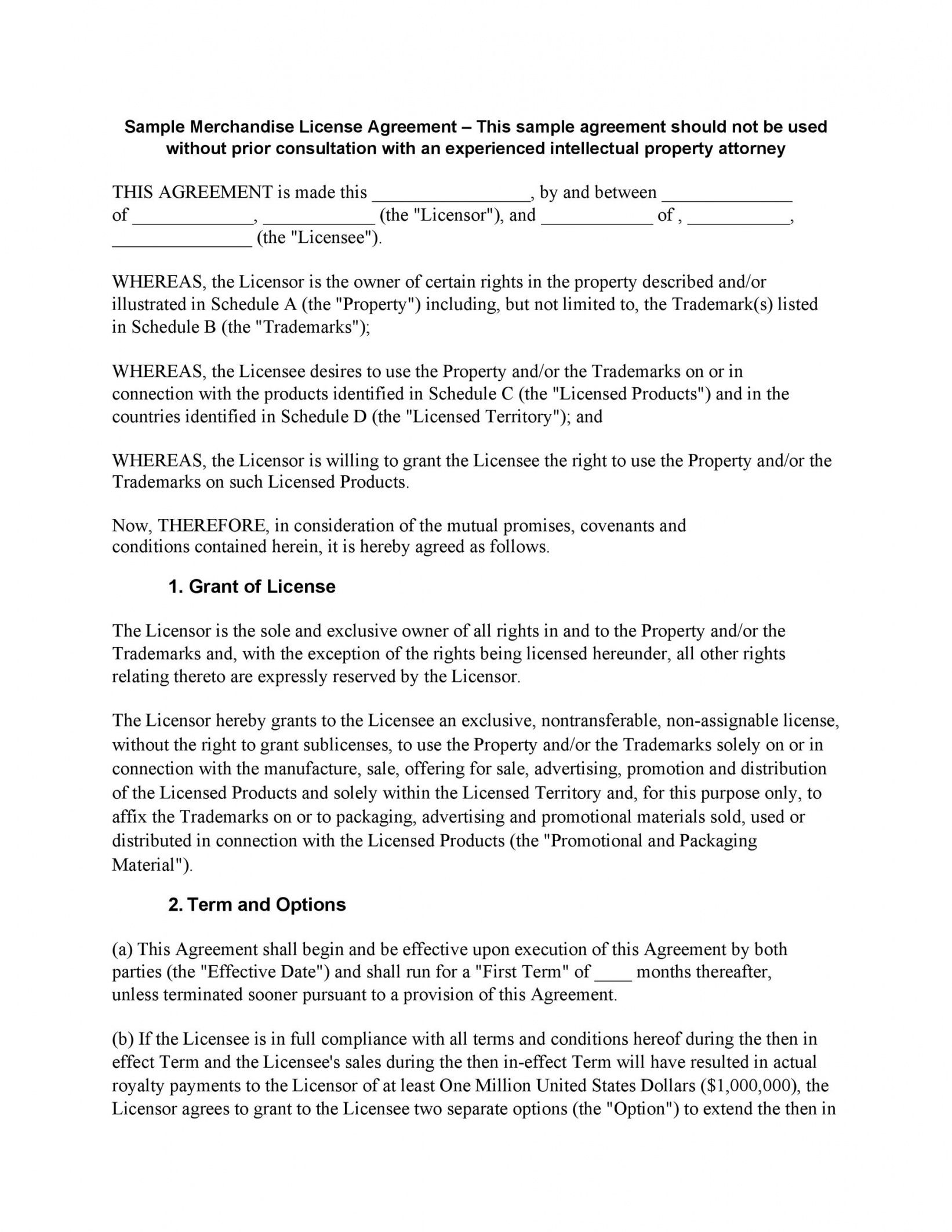 editable 50 professional license agreement templates  templatelab photography license agreement template excel
