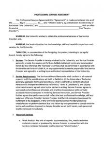 editable 50 professional service agreement templates & contracts service provision agreement template sample