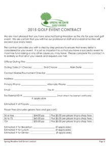 editable free 7 golf contract forms in pdf golf cart rental agreement template doc