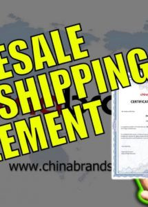 editable wholesale dropshipping agreement template chinabrands drop ship agreement template excel