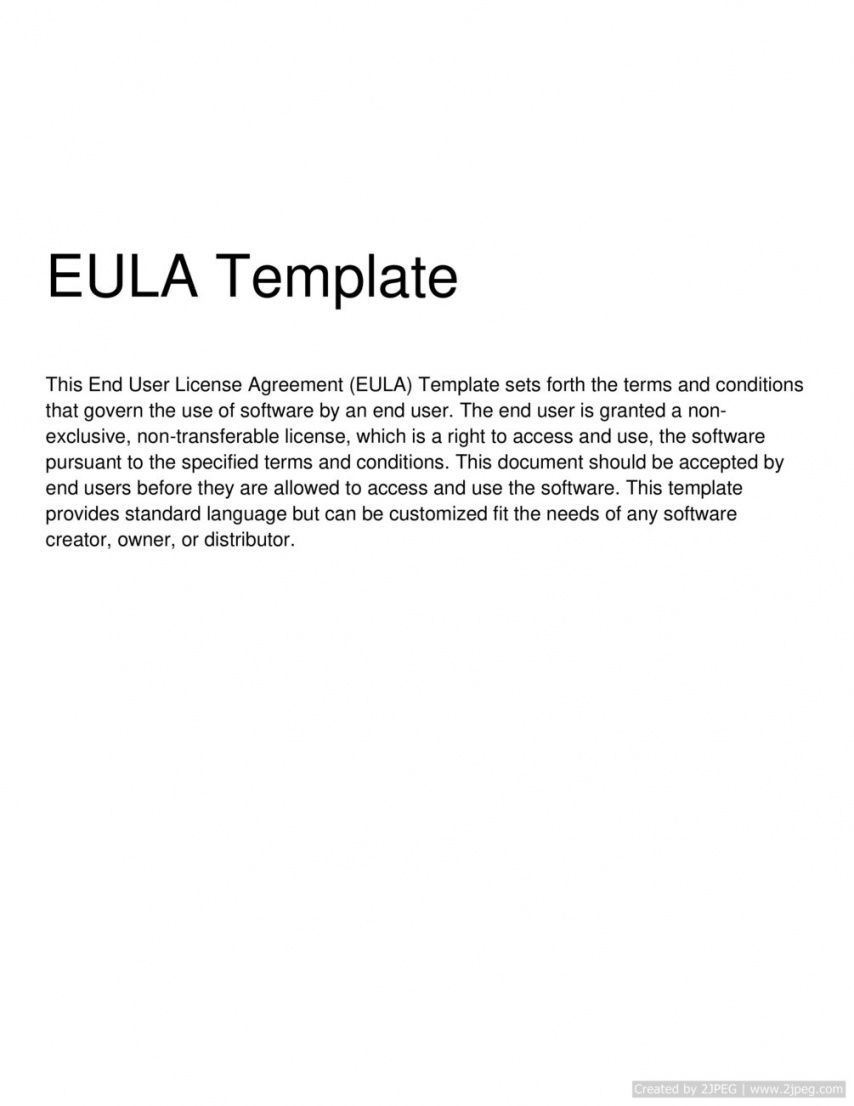 end user license agreement template end user license agreement template