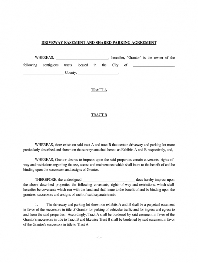 free shared driveway agreement  fill out and sign printable pdf template   signnow neighbor fence agreement template