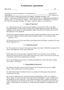printable 36 free commission agreements sales real estate contractor commission split agreement template excel