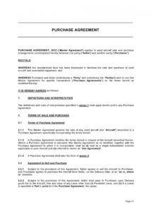 printable 37 simple purchase agreement templates real estate business simple property management agreement template pdf
