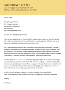 sales cover letter example  resume genius sales representative cover letter template doc