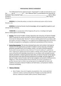 sample 11 service agreement contract template examples  pdf word service provider agreement template pdf