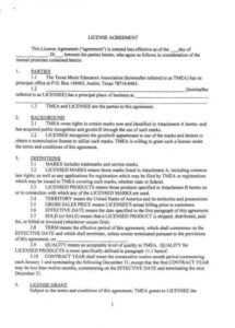 sample 8 trademark license agreement templates  pdf  free content license agreement template excel