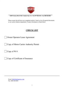 sample owner operator lease agreement  fill online printable owner operator agreement template sample
