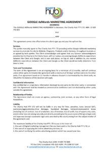 29 marketing agreement templates and examples  pdf word online advertising agreement template doc