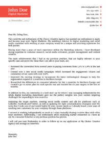 8 cover letter templates get started in 1 click it professional cover letter template doc