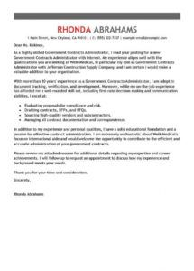 best government & military cover letter examples  livecareer veteran cover letter template sample