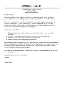 best receptionist cover letter examples  livecareer receptionist cover letter template pdf