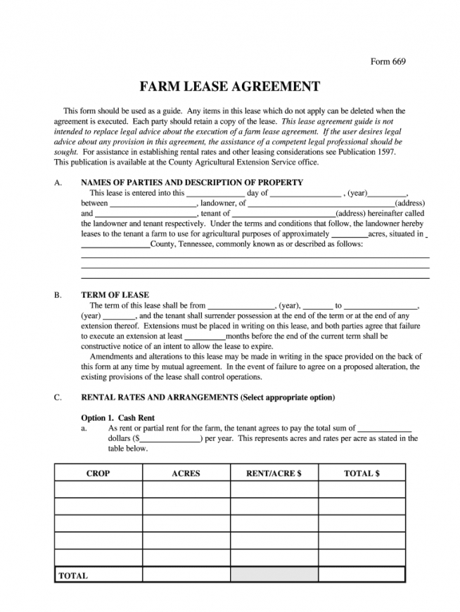 editable farm lease agreement word document  fill online printable farmland rental agreement template pdf