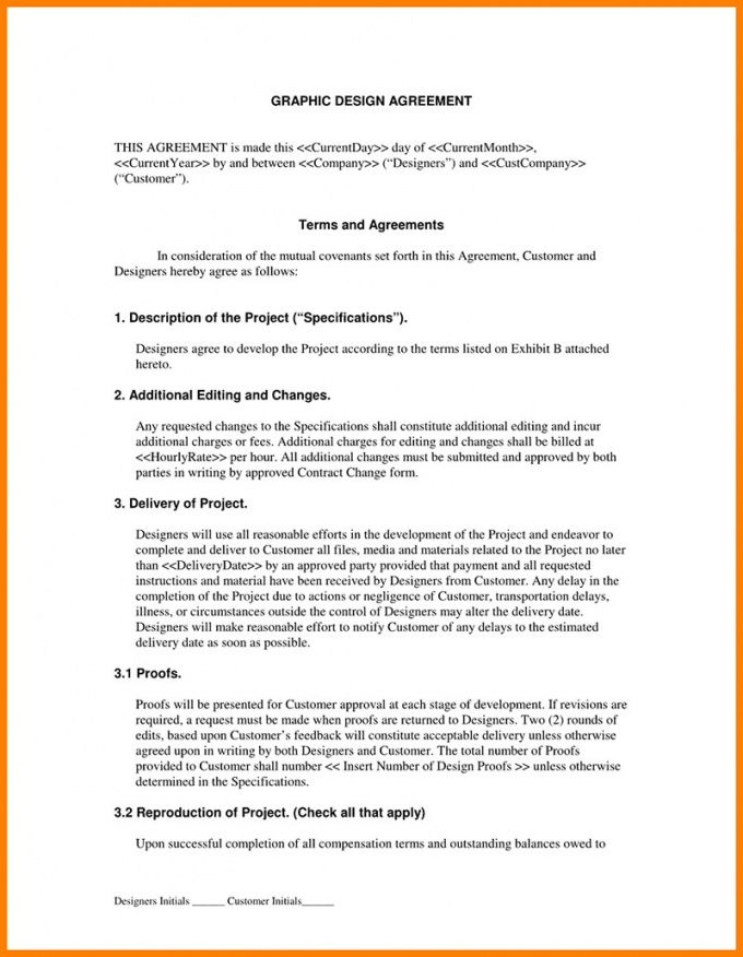 editable graphic design contract tips and templates to use freelance designer contract template example