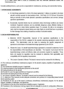 evaluate aircraft leasing agreement  pdf free download aircraft dry lease agreement template pdf