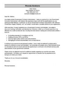 free best government & military cover letter examples  livecareer federal resume cover letter template sample